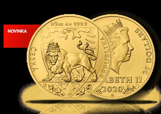 Novinka v našem sortimentu: Český lev 2020