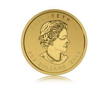 Zlatá investiční mince Puma - Call of The Wild - 1 Oz – zadní strana