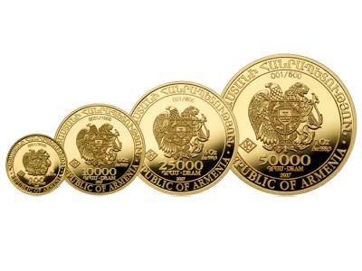 Světová premiéra: zlatá investiční mince Archa Noemova – limitovaná série.