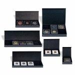 Etue AIRBOX černý karton pro 1 čtvercovou mincovní kapsli 50 x 50 mm – více druhů