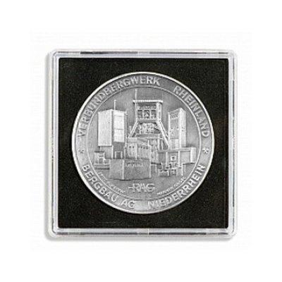 Kapsle na minci XL plastová čtvercová 67 x 67mm