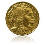 Zlatá investiční mince American Buffalo 1 Oz – přední strana