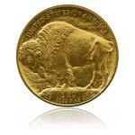 Zlatá investiční mince American Buffalo 1 Oz – zadní strana