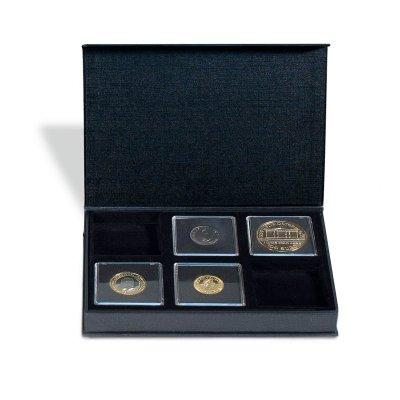 Etuje AIRBOX na 6 čtvercových mincovních kapslí 50 x 50 mm