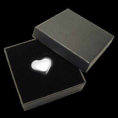 Stříbrný slitek srdce z ryzího stříbra 31,1 g | Ekka Gold - další strana
