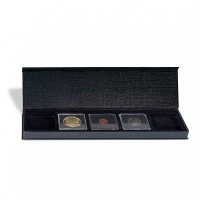 Etuje AIRBOX na 5 čtvercových mincovních kapslí 50 x 50 mm - první obrázek.