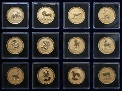 EKKA-Gold PŘEDSTAVUJE - Australská lunární série III - 1