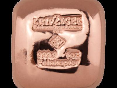 Novinka EKKA-Gold - Měděný slitek Leipziger 31,1 g (1 Oz)