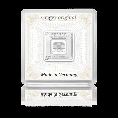 Stříbrný investiční slitek GEIGER Originál 5 g