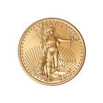 Zlatá investiční mince American Eagle 1/4 Oz (Americký orel) – druhá strana