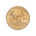Zlatá investiční mince American Eagle 1/4 Oz (Americký orel) – první strana další obrázek