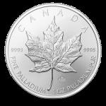 Paládiové investiční mince
