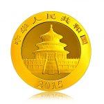 Zlatá investiční mince Panda 31,1 g (1 Oz) – druhá strana