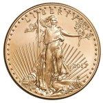 Zlatá investiční mince American Eagle 31,1 g (1 Oz) – druhá strana další obrázek