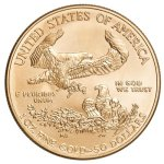 Zlatá investiční mince American Eagle 31,1 g (1 Oz) – první strana další obrázek