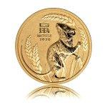 Zlatá investiční mince Australský Lunární rok 2020 Myš 31,1 g (1 Oz) - další obrázek
