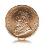 Zlatá investiční mince Krugerrand 3,11 g – druhá strana