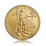 Zlatá investiční mince American Eagle (Americký orel) 15,55 g - druhá strana