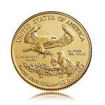 Zlatá investiční mince American Eagle (Americký orel) 7,78 g - obrázek 3