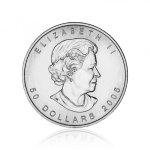 Paládiová investiční mince Maple Leaf 31,1 g – druhá strana