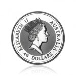 Paládiová investiční mince Australian Emu 31,1 g - druhá strana