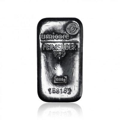 Stříbrný investiční slitek 1000 g
