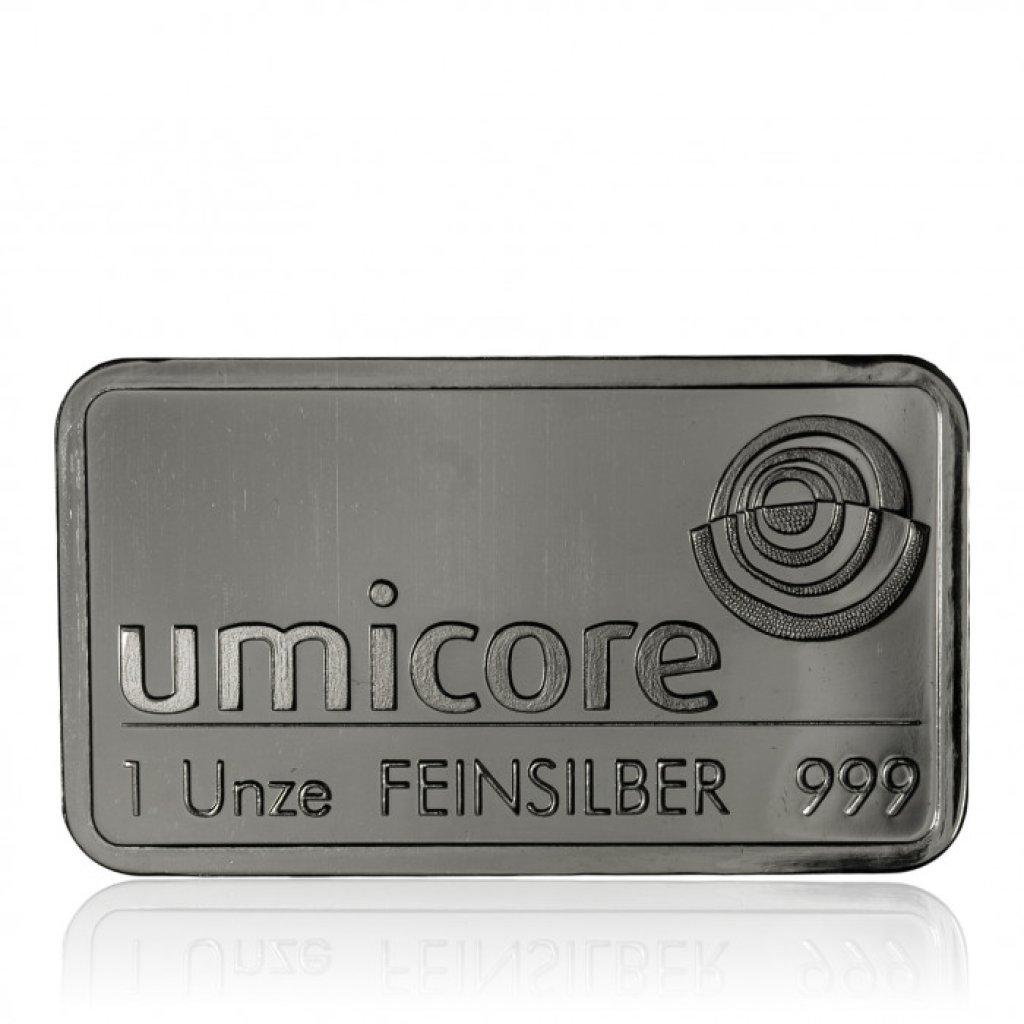 Stříbrný investiční slitek 31,1 g (1 Oz)