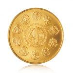 Zlatá investiční mince Mexiko Libertad 1/2 Oz – druhá strana