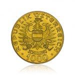 Zlatá investiční mince Babenberger 12,15 g - druhá strana