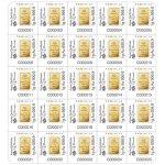 Zlatý investiční slitek PAMP Fortuna 25 x 1 g Multigram - druhá strana