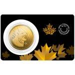 Zlatá investiční mince Lynx 2020 1 Oz - první strana v blistru