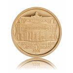 Zlatá mince 2000 Kč lázeňský dům v Lázních Bohdanči 6,22 g - druhá strana