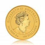 Zlatá investiční mince Australský Lunární rok 2021 Buvol 62,21 g - druhá strana