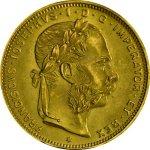 Zlatá investiční mince 8 Florin Gulden 20 Franků 5,81gramu - druhá strana