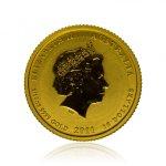 Zlatá investiční mince Australský lunární rok 2011 Králík 3,11 g (1/10 Oz) - druhá strana