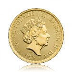 Zlatá investiční mince Britannia 1/2 Oz 999.9 - druhá strana
