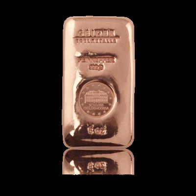 Měděný slitek 155,52 g (5 Oz)