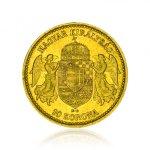 Zlatá mince 10 Korun Maďarsko 3,05 g - další obrázek