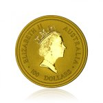 Zlatá investiční mince Australská Lunární Série I. 2006 Pes 31,1 g (1 Oz) - druhá strana