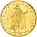 Zlatá mince 10 Korun Maďarsko 3,05 g - druhá strana