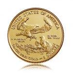 Zlatá investiční mince Gold American Eagle 3,11 g - 2. strana