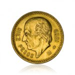 Zlatá investiční mince Gold Mexico Hidalgo 10 Pesos 7,50 g - 2. strana