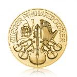 Zlatá investiční mince Wiener Philharmoniker 7,78 g (1/4 Oz)