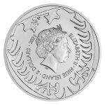 Stříbrná uncová investiční mince Český lev 2021 stand 31,1 g (1 Oz) - druhá strana