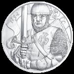 Stříbrná mince 825. výročí Vídeňské Mincovny - Leopold V. blistr - 31,1 g (1 Oz) - mince