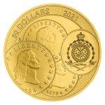 Zlatá uncová investiční mince Tolar - Česká republika 2021 STANDARD 31,1 g - obrázek 3