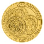 Zlatá uncová investiční mince Tolar - Česká republika 2021 STANDARD 31,1 g - obrázek 2