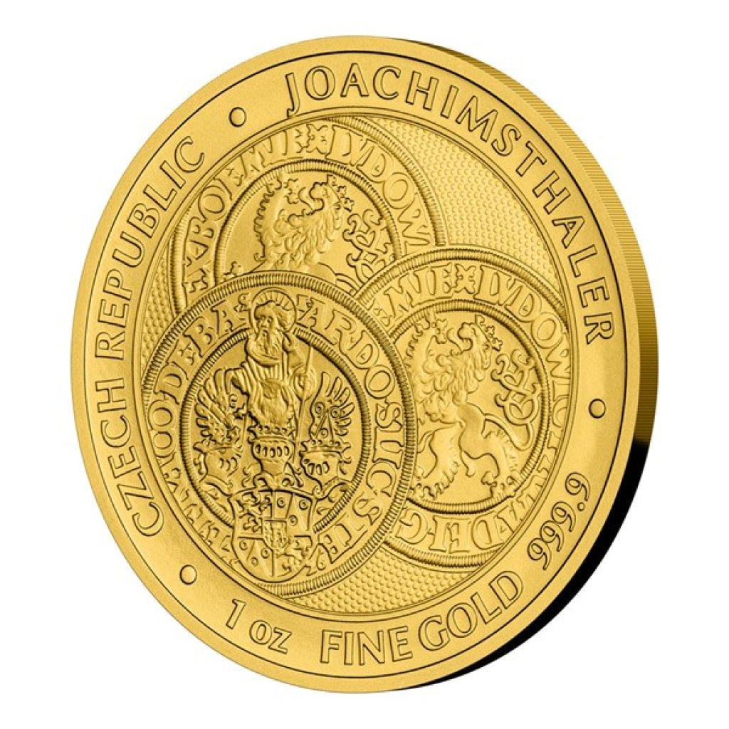 Zlatá uncová investiční mince Tolar - Česká republika 2021 STANDARD 31,1 g - obrázek 1