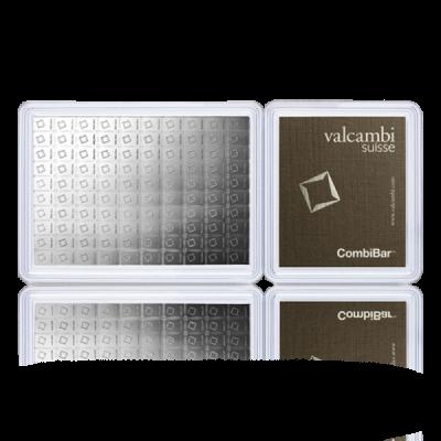 Stříbrný investiční slitek CombiBar 100 x 1 gram - obrázek 1