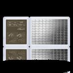 Stříbrný investiční slitek CombiBar 100 x 1 gram - obrázek 2